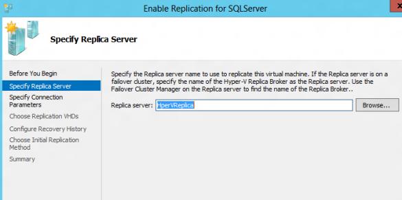 Replica Server
